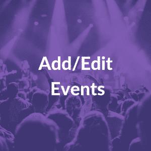 add/edit events